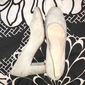 H and M little grey heels